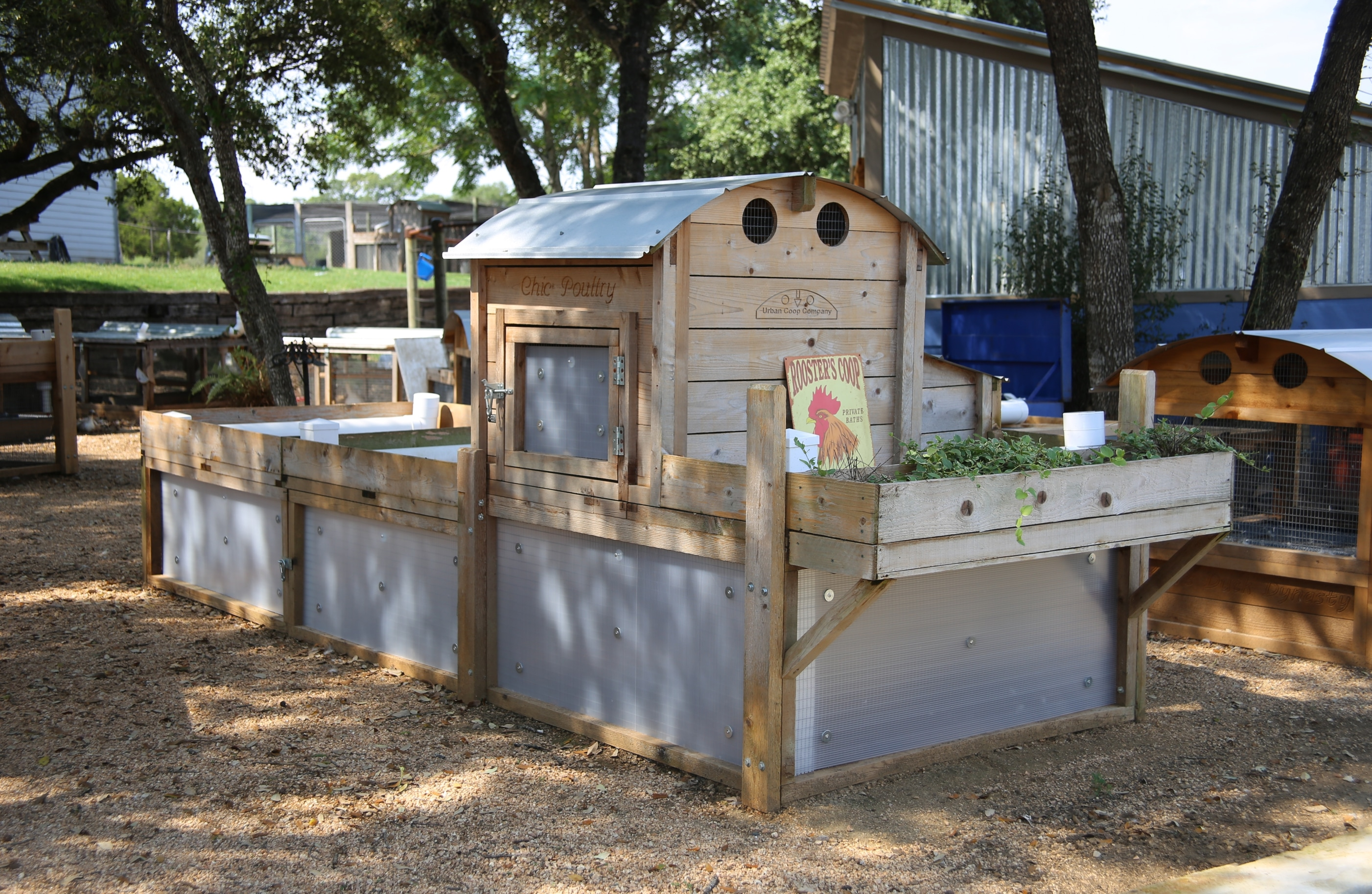 Round-Top Backyard™ Chicken Coop | Urban Coop Company ...