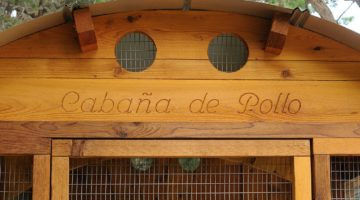 Free when you order your coop, a custom engraved entry can make your new coop even more fun.